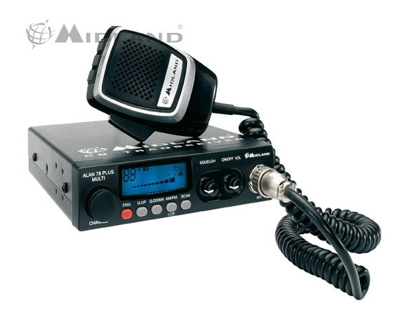 Radio CB Alan  78 Plus Multi B