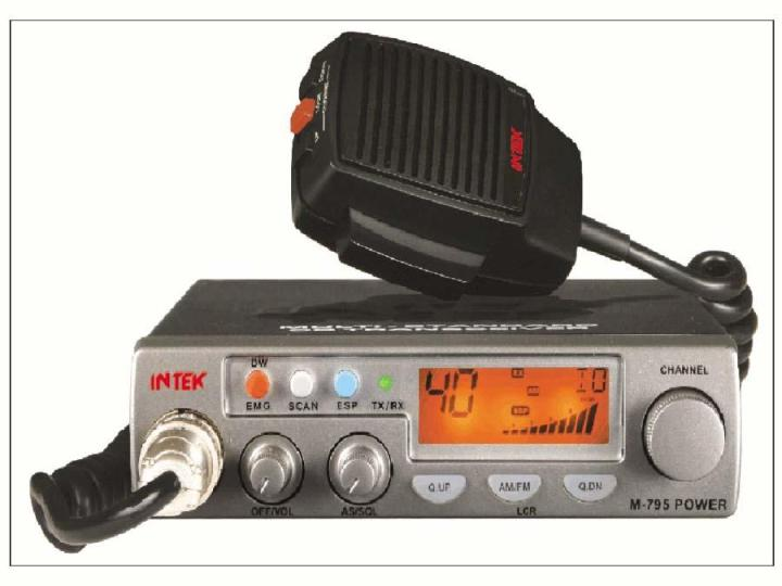 Radio CB Intek M 795