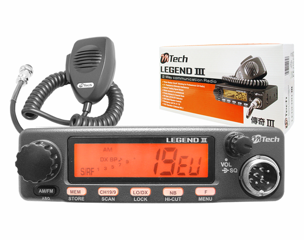 Radio CB M Tech Legend III